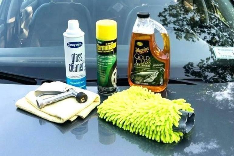 Моющие средства для автомобиля