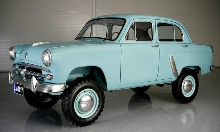 История происхождения модели москвича 410/411