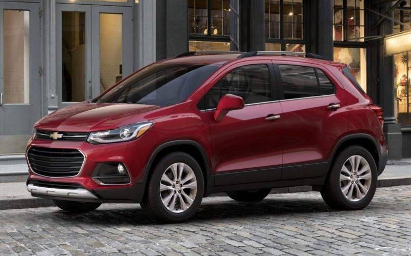 Новый Chevrolet Tracker.