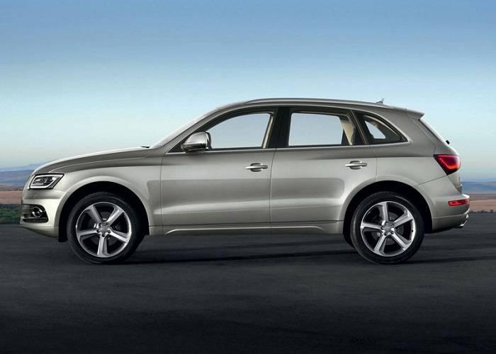Большинство деталей кузова Audi Q5 являются алюминиевыми