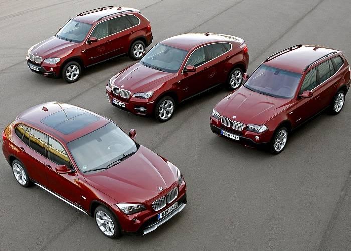 Модели кроссоверов компании BMW имеют большое разнообразие и высокую популярность