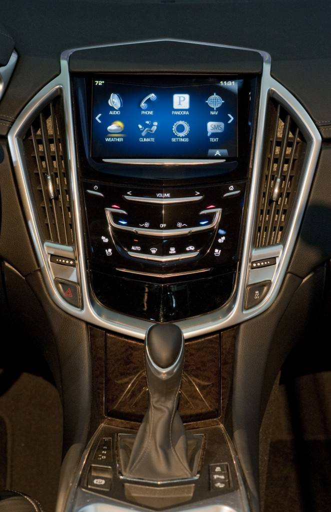 Caddillac CUE Technology at Los Angeles International Auto Show