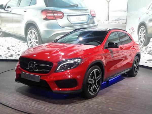 Mercedes-Benz-GLA привлек внимание покупателей еще на стадии разработки