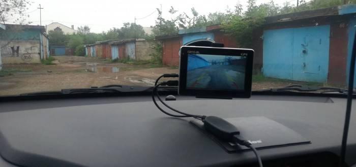 Радио камера заднего вида
