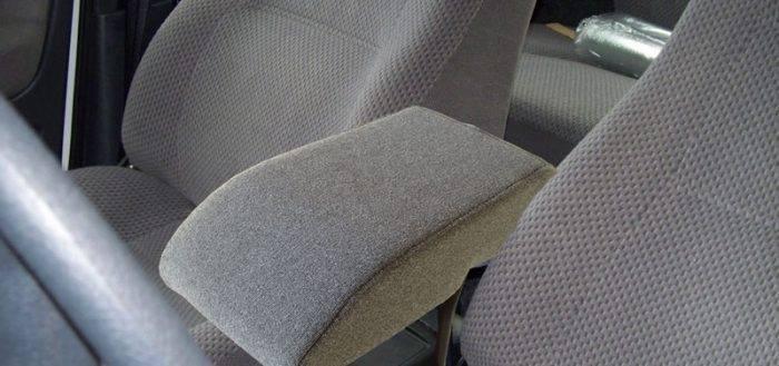 Самодельные подлокотники для авто