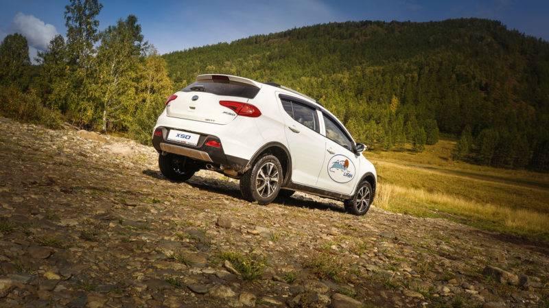 На российский рынок модель от китайского автопроизводителя попала в 2015 году.