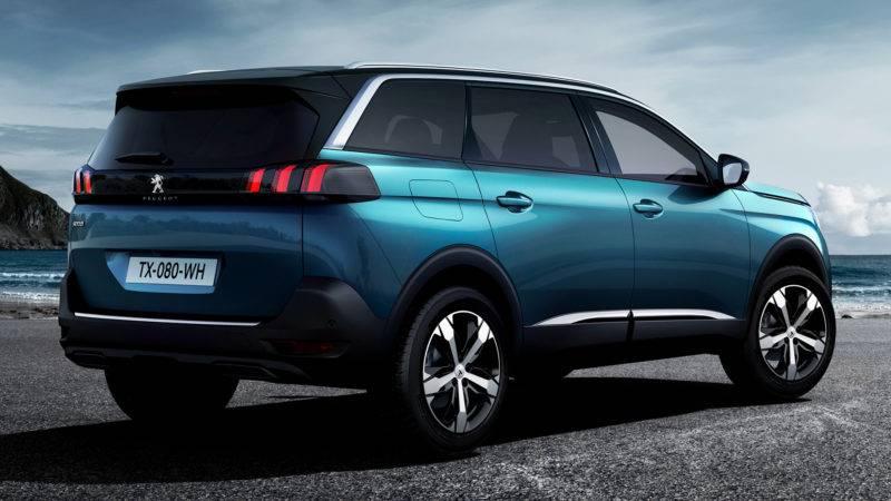 Пежо 5008 станет самым крупным представителем в ряду легковых автомашин компании.