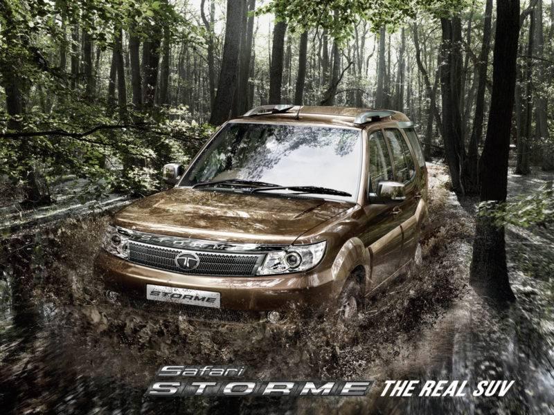 Габариты Tata Safari, в сравнении с предыдущими моделями, потерпели небольшие изменения в сторону уменьшения.