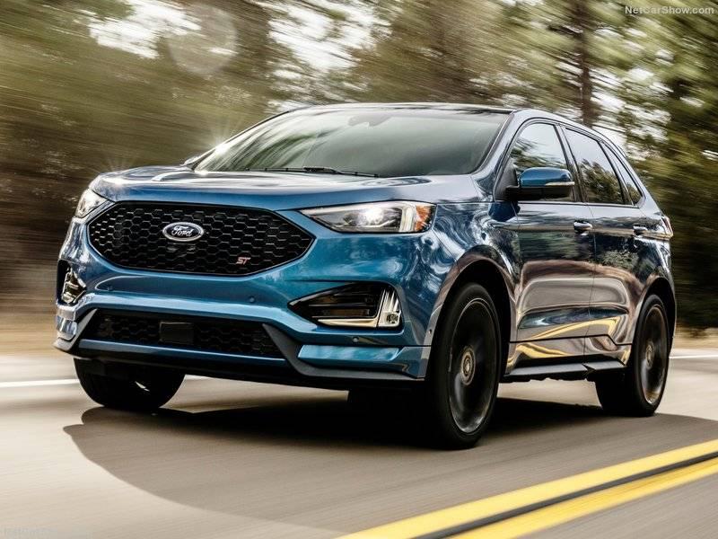 Новый Edge ST - первый внедорожник Ford, который будет настроен командой Ford Performance.