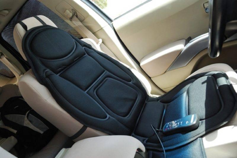 Для многих водителей идеальным решением станет использование массажной накидки на кресло.