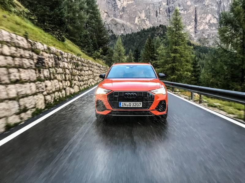 Желающие опробовать Audi Q3 модели 2018 года смогли оценить кроссовер в «полевых» условиях.