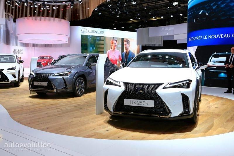 Парижская премьера - это первый показ Lexus UX для широкой европейской публики.