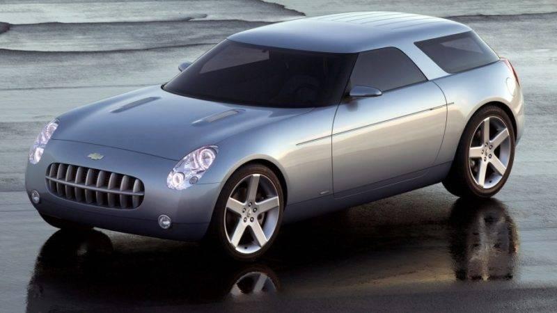 В 1999 году Chevrolet попали во многие новостные материалы с концептом Nomad, который должен был спортивным болидом на платформе Camaro.