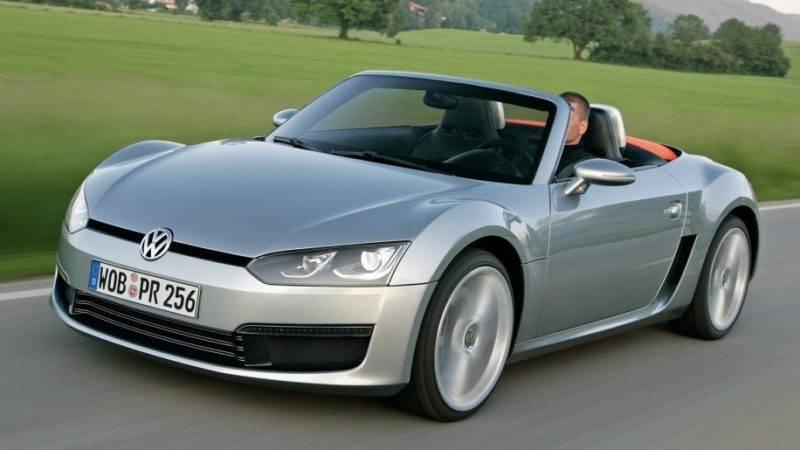 Volkswagen Concept BlueSport 2010 года.
