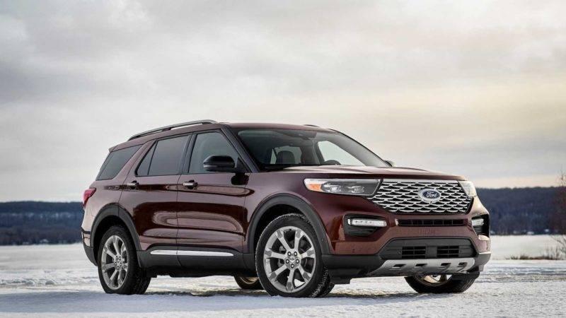 Ford Explorer - чуть ли ни самый популярный внедорожник в США.