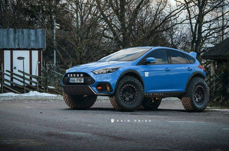 Ford Focus RS 4x4.