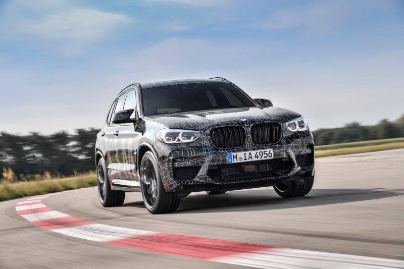 BMW X3 M 2020 года.