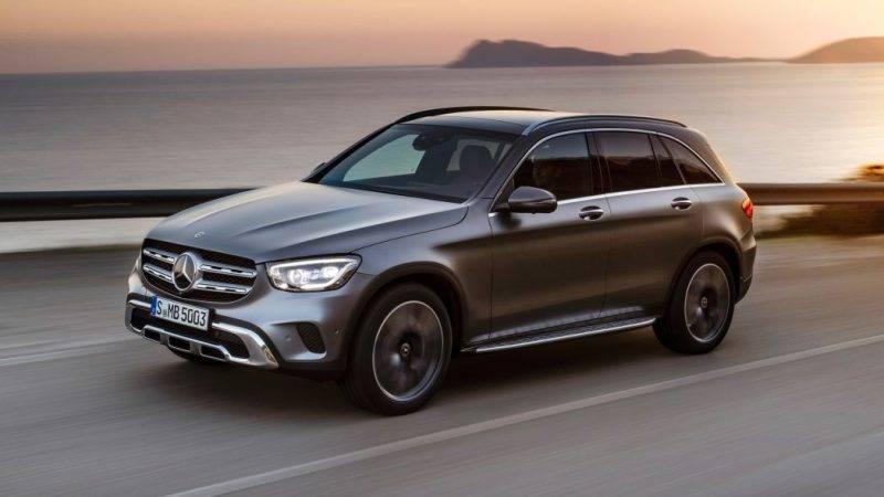 Mercedes-Benz GLC-Class 2020 года.