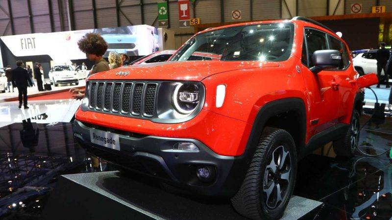 Jeep Renegade PHEV 2020.