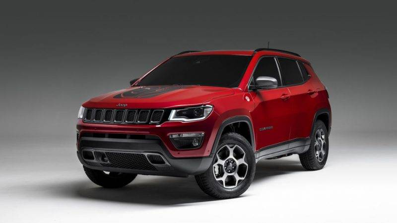 Jeep Compass PHEV 2020 года.