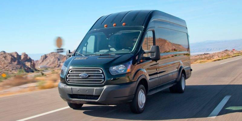 Transit - единственный продукт от Ford, который будут собирать в России в ближайшем будущем.