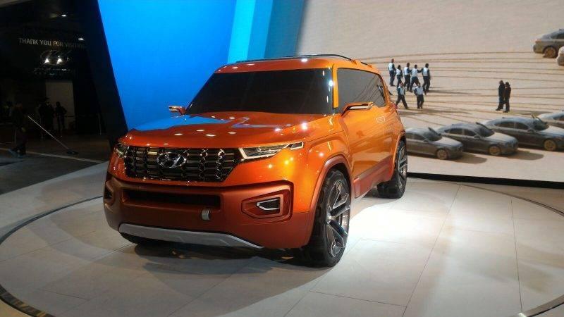 Hyundai Carlino так и остался концептом.