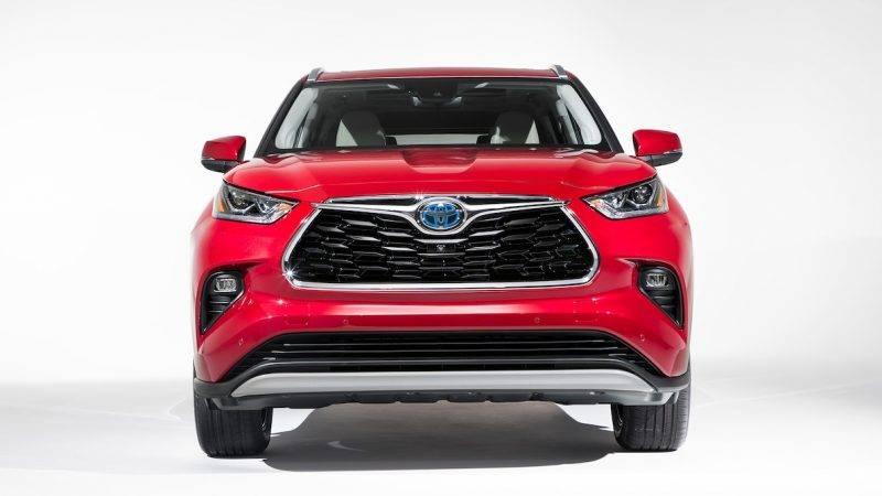 Toyota Highlander 2020.