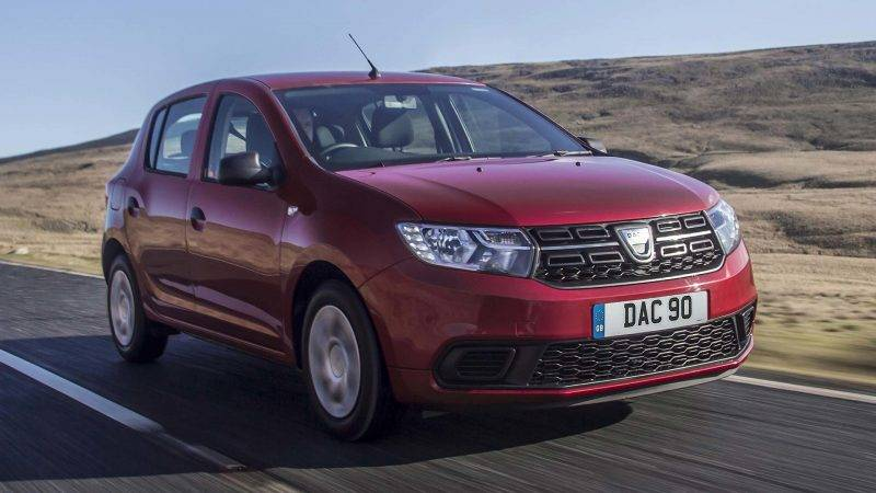 Dacia Sandero 2017 года.