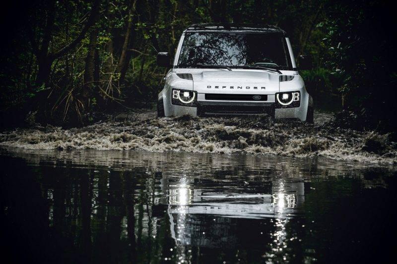Прототип нового Land Rover Defender 2020.