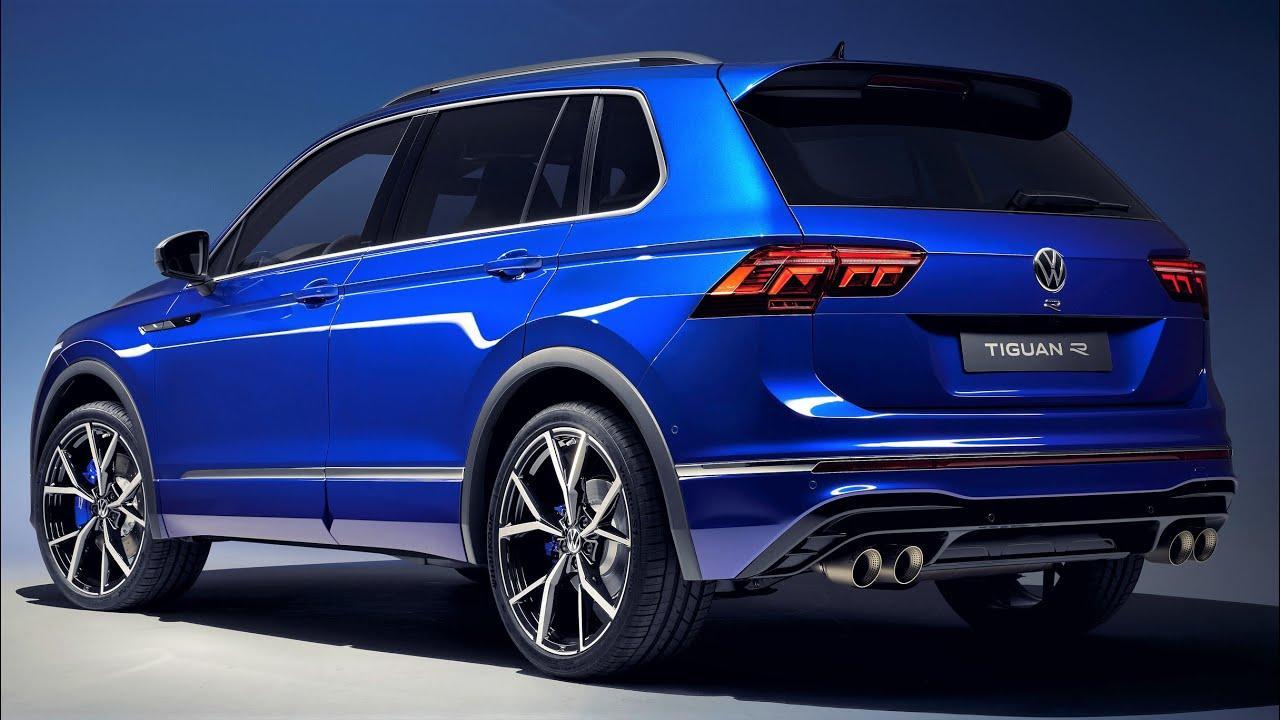 Volkswagen показал разгон мощного кроссовера Tiguan R 2021 ...