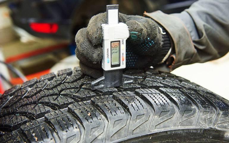 Изношенные шины как определить