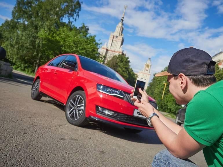 Создание фото автомобиля для продажи