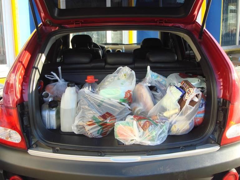 Почему продукты надо перевозить в багажнике