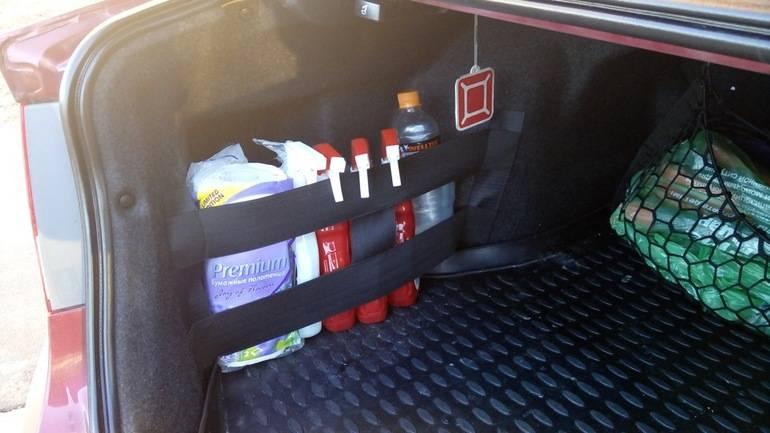 Как правильно перевозить вещи в багажнике