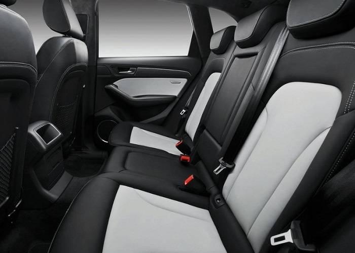 Салон Audi Q5 удобный и комфортный