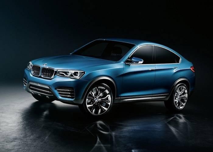 Кроссовер BMW X4 - сочетание BMW X3, BMW X6 и некоторых седанов BMW