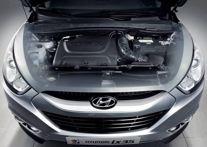 Имеется три вида двигателей в кроссоверах Hyundai ix35