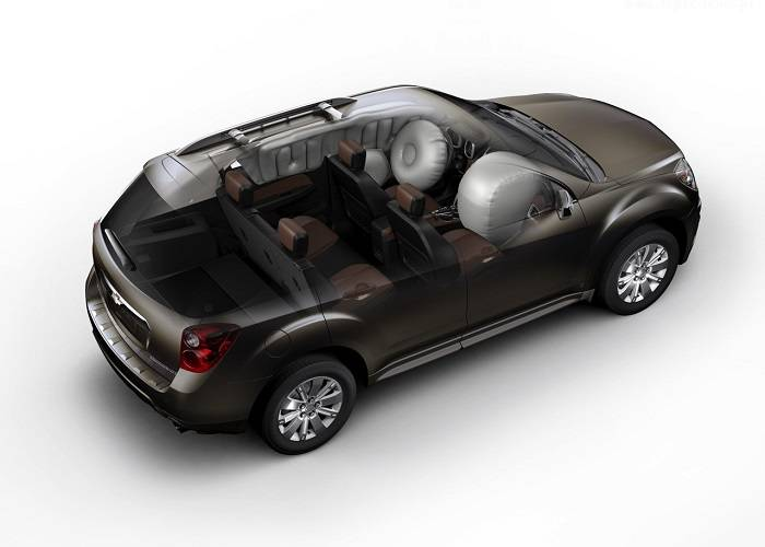 Кроссовер Chevrolet Equinox оснащен хорошей системой безопасности