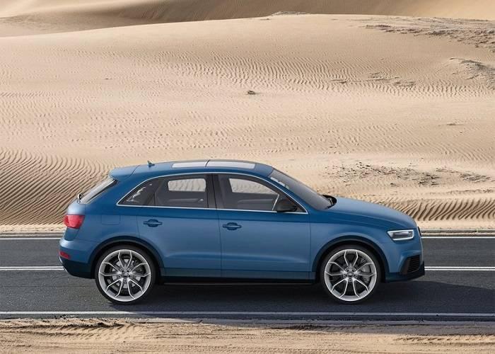 Дизайн кроссовера Audi Q3 сочетает в себе стиль классический и спортивный