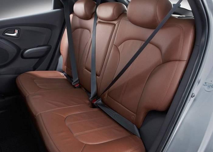К вопросу о безопасности в Hyundai ix35 производитель подошел с особым вниманием