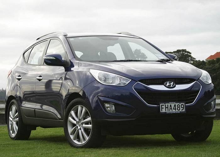 Стиль Hyundai ix35 несет в себе строгость и спортивный дух