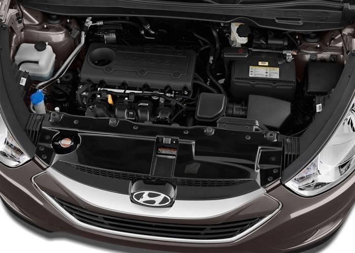 Достаточно мощный двигатель Hyundai Tucson позволяющий совершать с легкостью обгоны без сильного напряжения, не может не радовать водителя