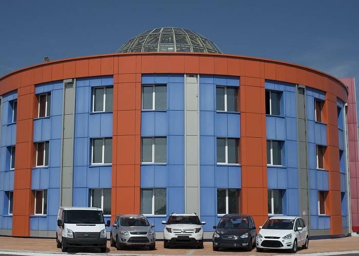 Филиал завода Ford Sollers, находящийся в Татарстане