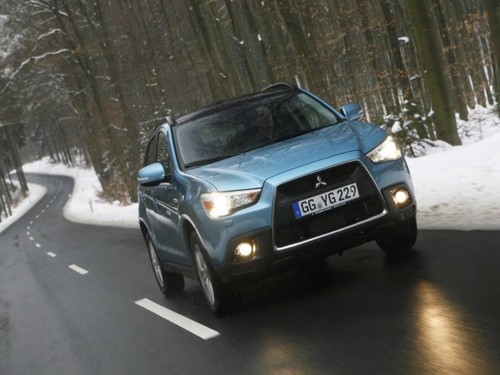 Мицубиси ASX все чаще встречается на российских дорогах
