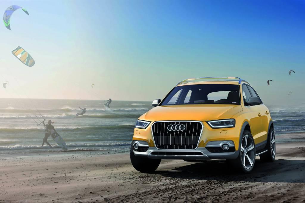 Audi Q3 jinlong yufeng/Standaufnahme