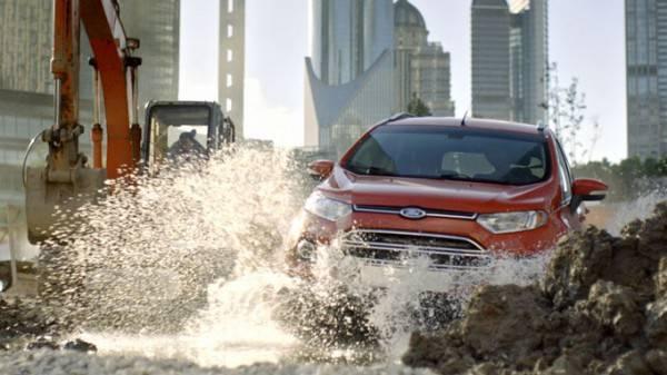 Форд Экоспорт буквально создан для города