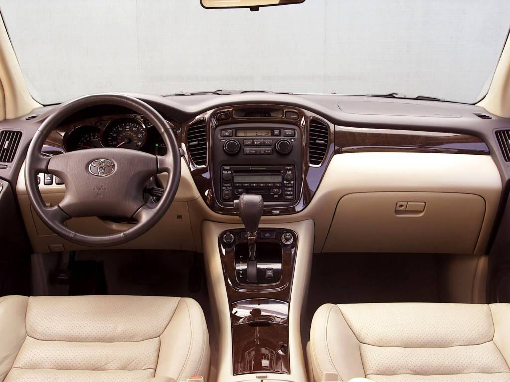 Toyota_Highlander_SUV 5 door_2001