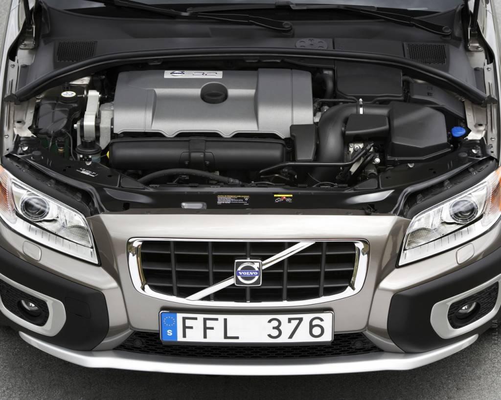 Мощности двигателя Вольво хс70 не хватает, чтобы назвать его полноценным внедорожником.