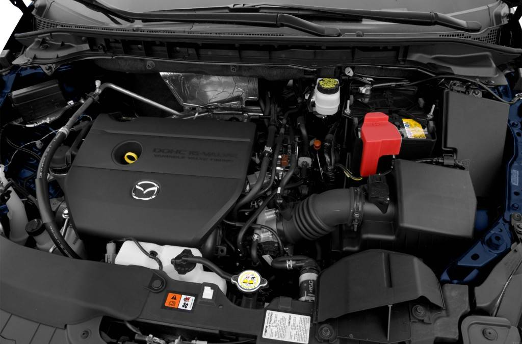 2011-Mazda-CX-7-SUV-i-SV-4dr-Front-wheel-Drive-Exterior-Engine
