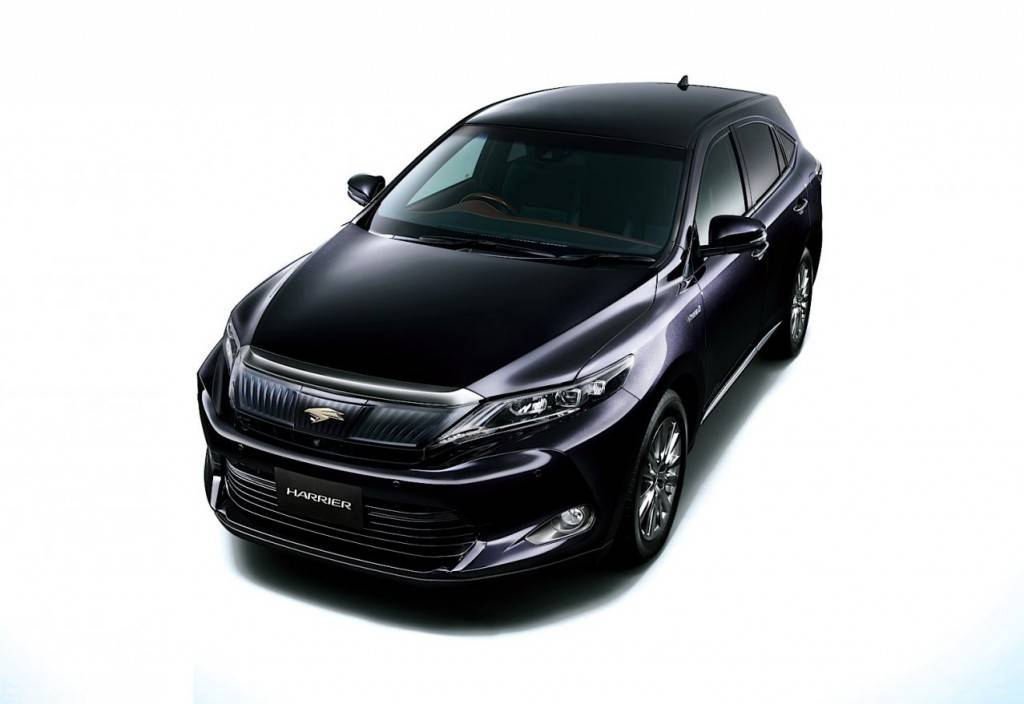 гибридный toyota harrier